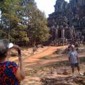 Mr. Ronald and Mrs. Deidre Ball from England - To and from Bangkok to Siem Reap Private Overland - 26 January to 28 January 2013