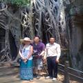 Jose Antonio Avilla Mr. and Catherina frieds with Carlos 02 pax - Mexico City - Apr 26th to 29th Essential Angkor - Borei Angkor Hotel Resort & Spa
